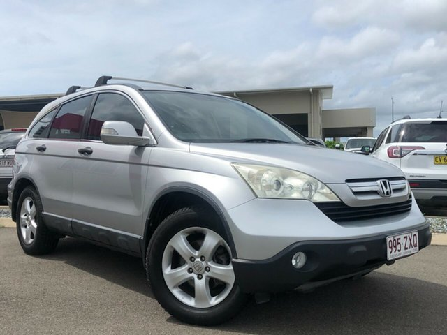 Used Honda CR-V RE MY2007 Special Edition 4WD Garbutt, 2008 Honda CR-V RE MY2007 Special Edition 4WD Silver 5 Speed Automatic Wagon