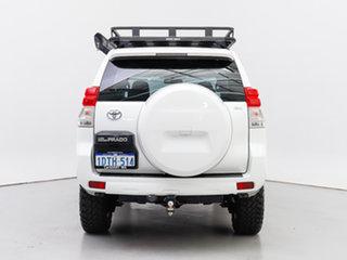 2011 Toyota Landcruiser Prado KDJ150R 11 Upgrade GX (4x4) White 6 Speed Manual Wagon
