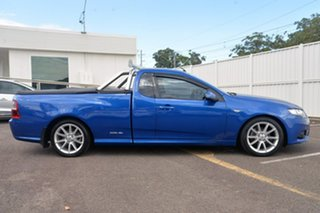 2013 Ford Falcon FG MkII XR6 Ute Super Cab Blue 6 Speed Manual Utility.