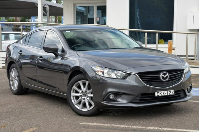 Used Mazda 6 GL1031 Sport SKYACTIV-Drive North Gosford, 2017 Mazda 6 GL1031 Sport SKYACTIV-Drive Grey 6 Speed Sports Automatic Sedan