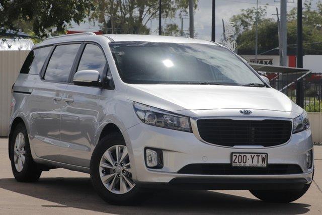 Used Kia Carnival YP MY16 SI Bundamba, 2016 Kia Carnival YP MY16 SI Silver 6 Speed Sports Automatic Wagon