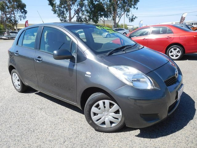 Used Toyota Yaris NCP90R MY10 YR Wangara, 2010 Toyota Yaris NCP90R MY10 YR Grey 5 Speed Manual Hatchback