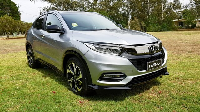 New Honda HR-V MY21 RS Tanunda, 2020 Honda HR-V MY21 RS Lunar Silver 1 Speed Automatic Hatchback