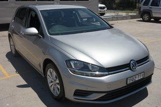 2017 Volkswagen Golf 7.5 MY17 110TSI DSG Trendline Silver 7 Speed Sports Automatic Dual Clutch.