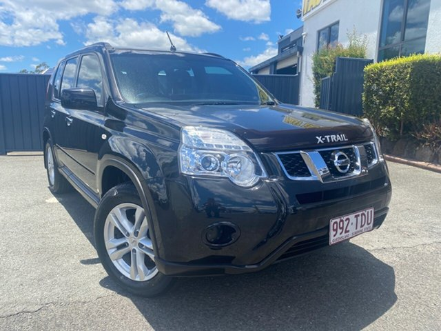 Used Nissan X-Trail T31 Series V ST 2WD Slacks Creek, 2013 Nissan X-Trail T31 Series V ST 2WD Black 6 Speed Manual Wagon