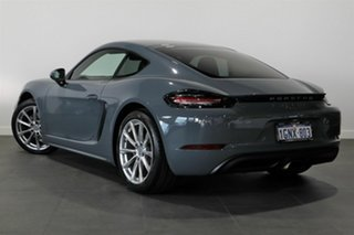 2018 Porsche 718 982 MY18 Cayman PDK Blue 7 Speed Sports Automatic Dual Clutch Coupe