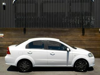 2007 Holden Barina TK MY07 White 4 Speed Automatic Sedan.