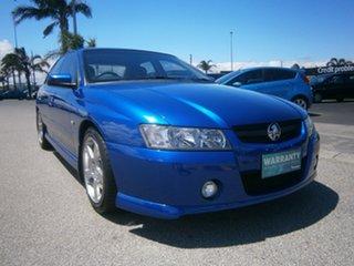 2005 Holden Commodore VZ SV6 Blue 5 Speed Sports Automatic Sedan.