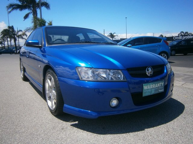 Used Holden Commodore VZ SV6 Cheltenham, 2005 Holden Commodore VZ SV6 Blue 5 Speed Sports Automatic Sedan
