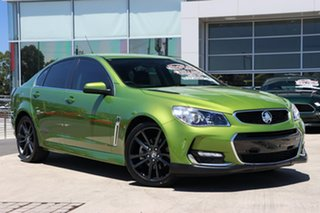 2015 Holden Commodore VF II MY16 SS V Jungle Green 6 Speed Sports Automatic Sedan.