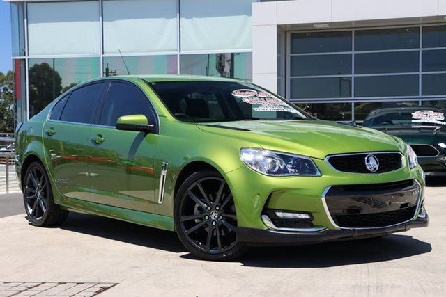 Used Holden Commodore VF II MY16 SS V Liverpool, 2015 Holden Commodore VF II MY16 SS V Jungle Green 6 Speed Sports Automatic Sedan