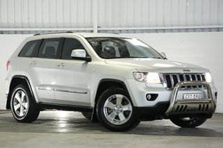 2012 Jeep Grand Cherokee WK MY2013 Laredo Silver 5 Speed Sports Automatic Wagon.