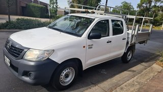 2011 Toyota Hilux TGN16R MY11 Upgrade Workmate 5 Speed Manual Dual Cab Pick-up.