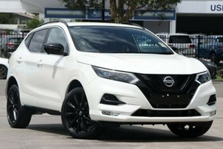 2020 Nissan Qashqai J11 Series 3 MY20 Midnight Edition X-tronic Ivory Pearl 1 Speed.