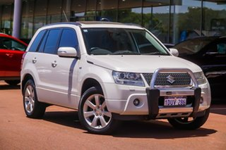 2011 Suzuki Grand Vitara JB MY09 Prestige White 5 Speed Automatic Wagon.