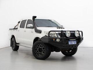 2011 Toyota Hilux KUN26R MY12 SR5 (4x4) 4 Speed Automatic Dual Cab Pick-up.
