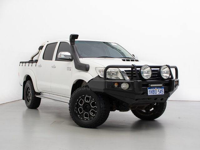 Used Toyota Hilux KUN26R MY12 SR5 (4x4), 2011 Toyota Hilux KUN26R MY12 SR5 (4x4) 4 Speed Automatic Dual Cab Pick-up