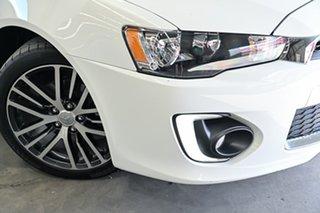 2016 Mitsubishi Lancer CF MY16 GSR Sportback White 6 Speed Constant Variable Hatchback.