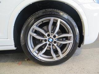2016 BMW X3 F25 MY16 xDrive30d White 8 Speed Automatic Wagon
