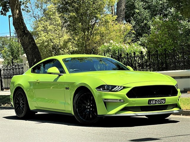 Used Ford Mustang FN 2020MY GT Hyde Park, 2020 Ford Mustang FN 2020MY GT Green 10 Speed Sports Automatic Fastback