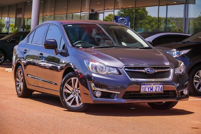 Used Subaru Impreza G4 MY16 2.0i Lineartronic AWD Premium Gosnells, 2016 Subaru Impreza G4 MY16 2.0i Lineartronic AWD Premium Grey 6 Speed Constant Variable Sedan