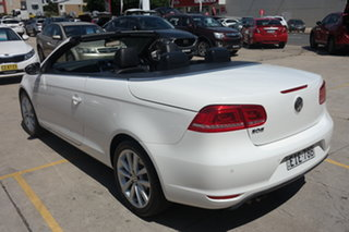2011 Volkswagen EOS 1F MY11 103TDI DSG White 6 Speed Sports Automatic Dual Clutch Convertible