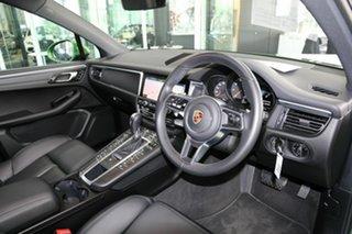 2019 Porsche Macan 95B MY19 PDK AWD Green 7 Speed Sports Automatic Dual Clutch Wagon.