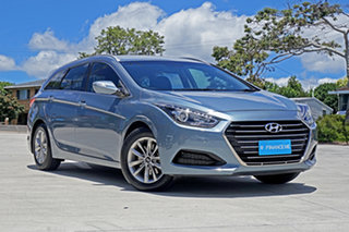 2017 Hyundai i40 VF4 Series II Active Tourer Grey 6 Speed Sports Automatic Wagon.