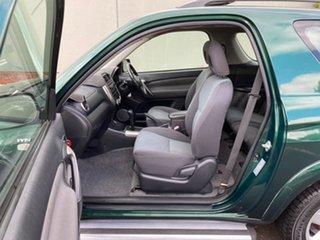 2003 Toyota RAV4 ACA22R Cruiser Green 4 Speed Automatic Hardtop