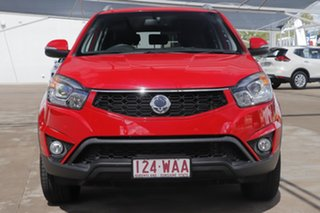 2015 Ssangyong Korando C200 MY15 SX 2WD Red 6 Speed Automatic Wagon
