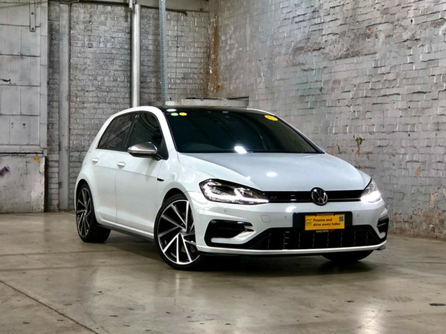 Used Volkswagen Golf 7.5 MY20 R DSG 4MOTION Mile End South, 2019 Volkswagen Golf 7.5 MY20 R DSG 4MOTION White 7 Speed Sports Automatic Dual Clutch Hatchback