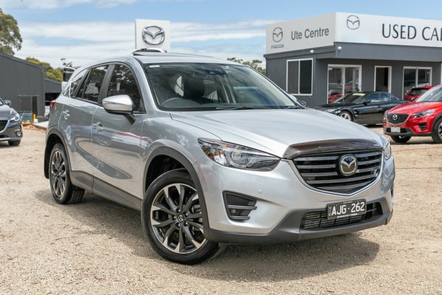 Used Mazda CX-5 KE1022 Akera SKYACTIV-Drive AWD Mornington, 2016 Mazda CX-5 KE1022 Akera SKYACTIV-Drive AWD Silver 6 Speed Sports Automatic Wagon