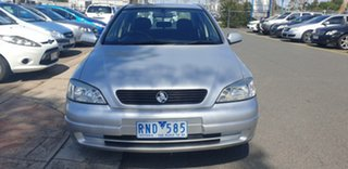 2002 Holden Astra TS CD Silver 4 Speed Automatic Sedan.