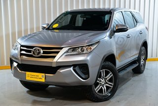 2018 Toyota Fortuner GUN156R GX Silver 6 Speed Automatic Wagon