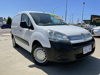 2011 Citroen Berlingo B9C 1.6 HDi Short White 5 Speed Manual Van.