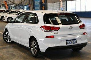 2017 Hyundai i30 PD Active Polar White 6 Speed Auto Sequential Hatchback.