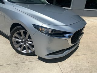2020 Mazda 3 BP2S7A G20 SKYACTIV-Drive Evolve Sonic Silver 6 Speed Sports Automatic Sedan.