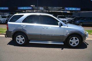 2007 Kia Sorento BL LX Blue 5 Speed Automatic Wagon.
