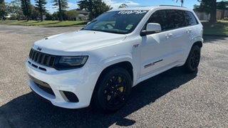 2020 Jeep Grand Cherokee WK MY20 Trackhawk Bright White 8 Speed Sports Automatic Wagon.