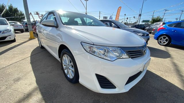 Used Toyota Camry ASV50R Altise Maidstone, 2012 Toyota Camry ASV50R Altise White 6 Speed Sports Automatic Sedan
