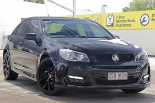 2016 Holden Commodore VF II MY16 SS Black Black 6 Speed Sports Automatic Sedan