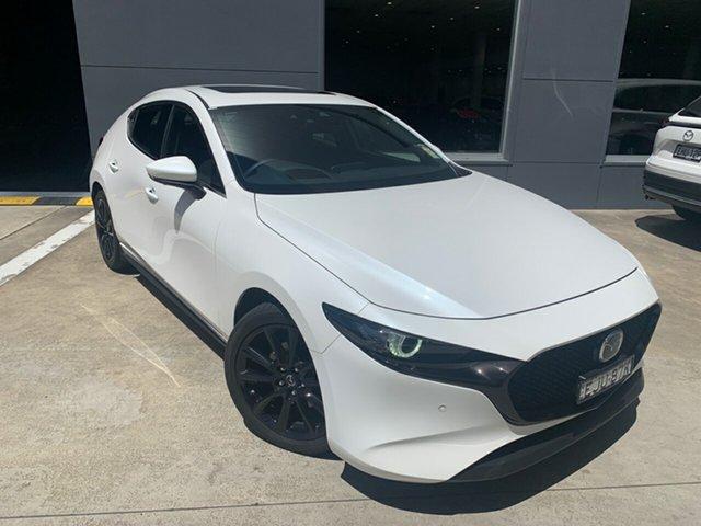 Demo Mazda 3 BP2HHA X20 SKYACTIV-Drive Astina Alexandria, 2020 Mazda 3 BP2HHA X20 SKYACTIV-Drive Astina Snowflake White 6 Speed Sports Automatic Hatchback