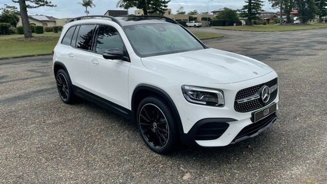 Demo Mercedes-Benz GLB-Class X247 800+050MY GLB250 DCT 4MATIC Port Macquarie, 2020 Mercedes-Benz GLB-Class X247 800+050MY GLB250 DCT 4MATIC Polar White 8 Speed