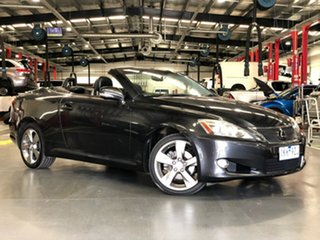 2010 Lexus IS GSE20R MY10 IS250 C Sports Grey 6 Speed Sports Automatic Convertible.