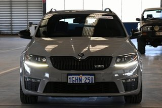 2016 Skoda Octavia NE MY17 RS 162 TSI Grey 6 Speed Direct Shift Wagon