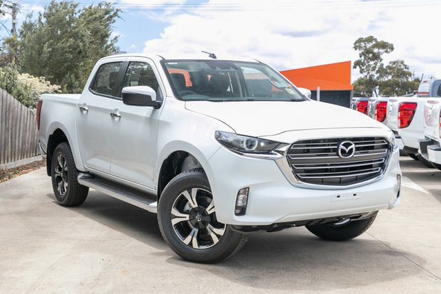 Demo Mazda BT-50 TFS40J XTR Mornington, 2020 Mazda BT-50 TFS40J XTR Ice White 6 Speed Sports Automatic Utility