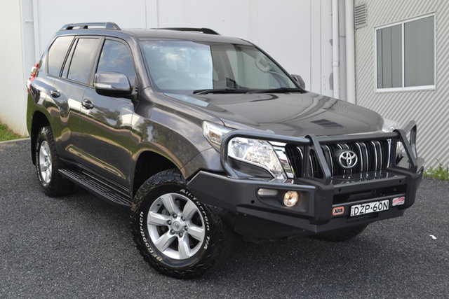 Used Toyota Landcruiser Prado KDJ150R MY14 GXL Maitland, 2013 Toyota Landcruiser Prado KDJ150R MY14 GXL Grey 5 Speed Sports Automatic Wagon