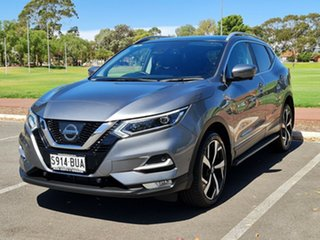 2017 Nissan Qashqai J11 Series 2 N-TEC X-tronic Gun Metallic 1 Speed Constant Variable Wagon.