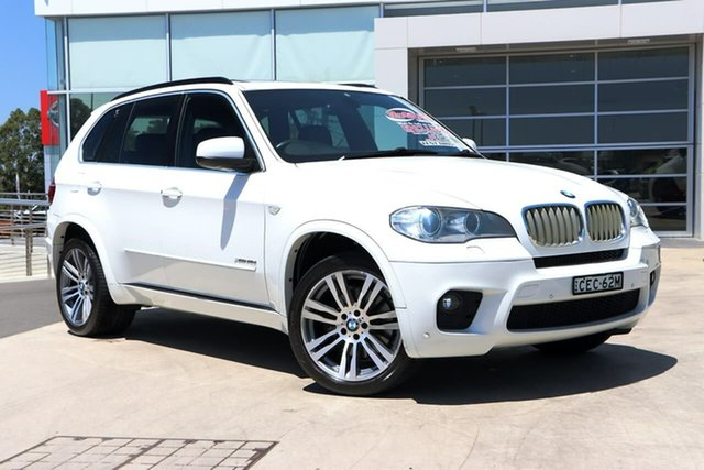 Used BMW X5 E70 MY12 xDrive40d Steptronic Sport Liverpool, 2011 BMW X5 E70 MY12 xDrive40d Steptronic Sport Alpine White 8 Speed Sports Automatic Wagon