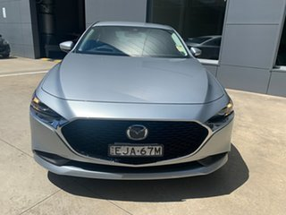 2020 Mazda 3 BP2S7A G20 SKYACTIV-Drive Evolve Sonic Silver 6 Speed Sports Automatic Sedan
